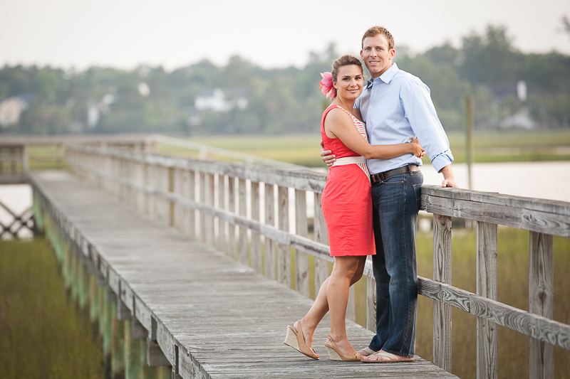 Charleston Dock Engagement Photo Session