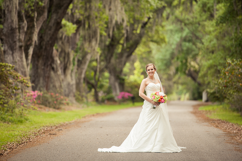 Magnolia Plantation Bridal Session