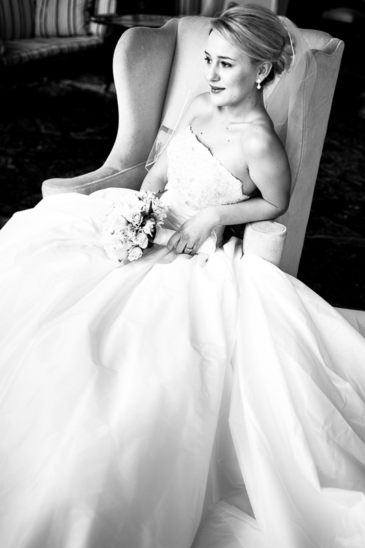 Palmer House Bridal Portrait