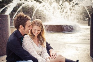 Waterfront Park Downtown Charleston Engagement Session
