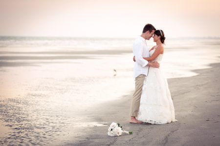Wedding at Kiawah Island Snadcastle