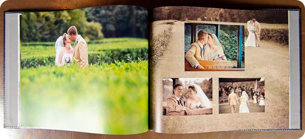 wedding photo album diana deaver weddings