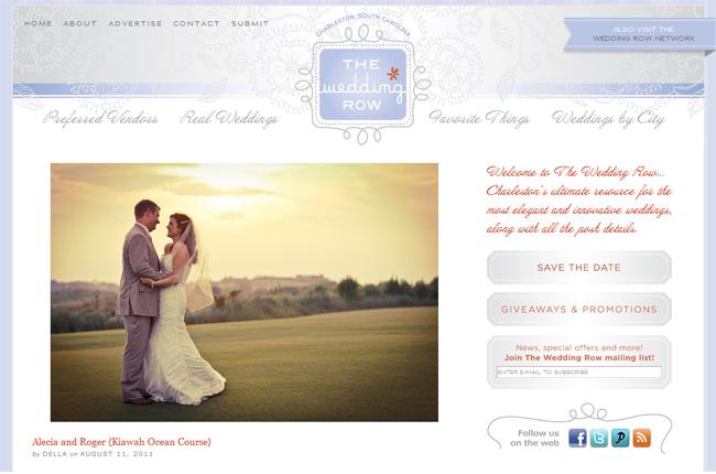 Alecia and Roger Wedding Row Charleston Photographer