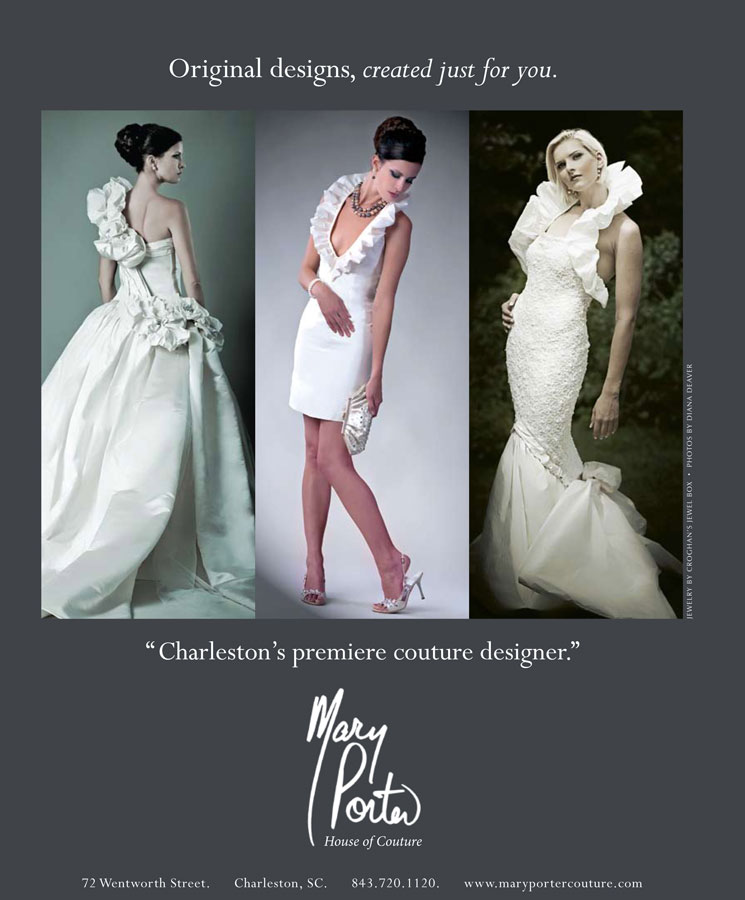 Diana Deaver Weddings Mary Porter Ad