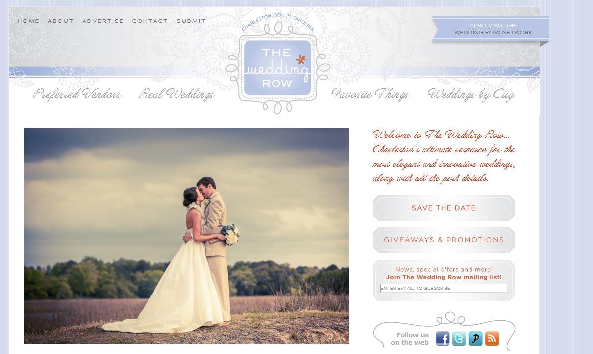 Diana Deaver Wedding Photographer featured on Wedding Row