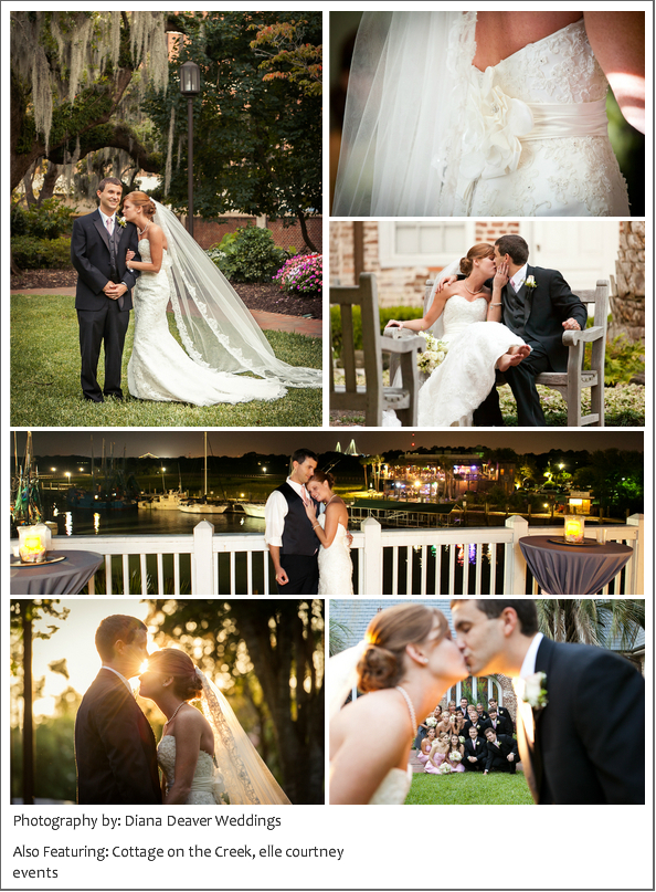 Charleston Wedding, St. Luke and Cottage on the Creek