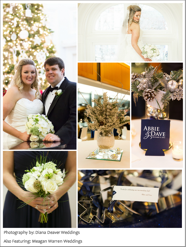 Christmas Wedding Photos