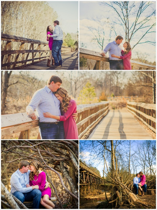 Wood and Branches_Engagement_Session