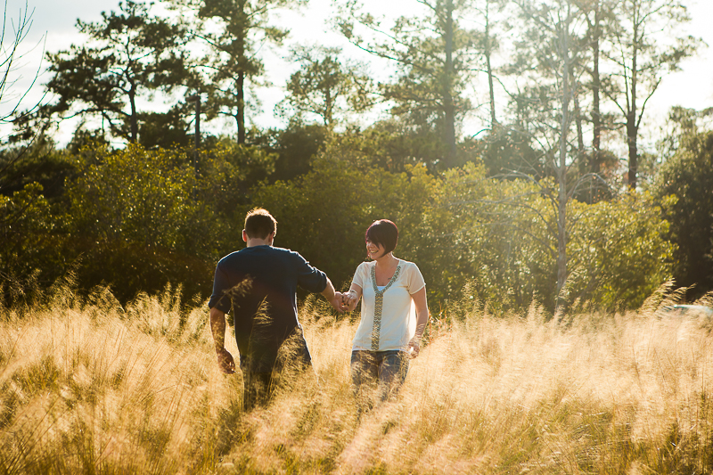 engagement session at charles towne landing photographed by Diana Deaver