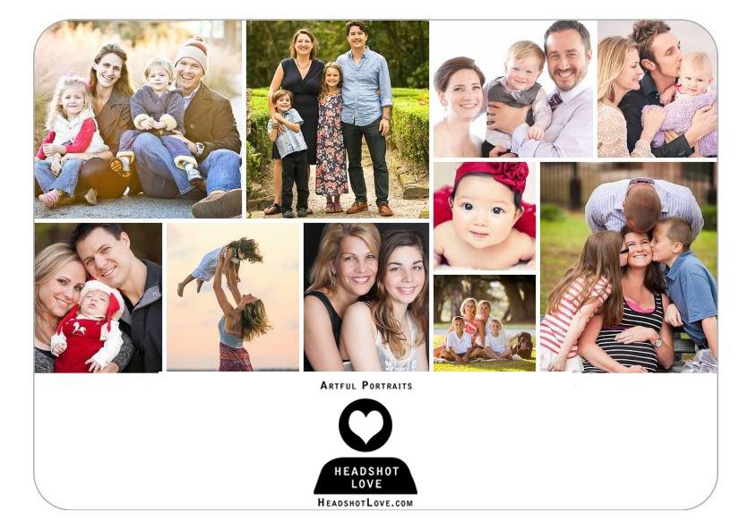 actor headshots, family portraits