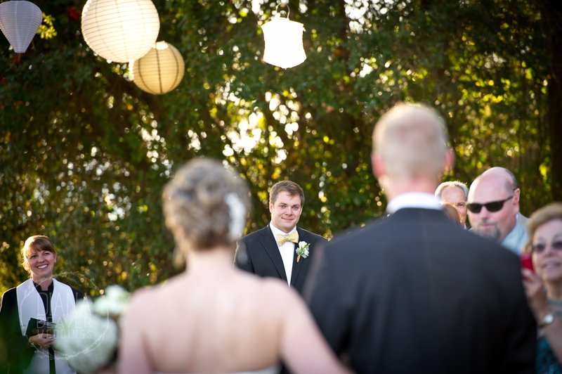 Wedding Ceremony Site at Alhambra Hall Mt. Pleasant SC