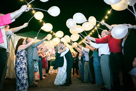Reception And Send Off Photos At The Island House Waterfront Wedding Venue Charleston Sc