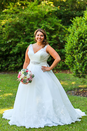 bride at the island house charleston photography