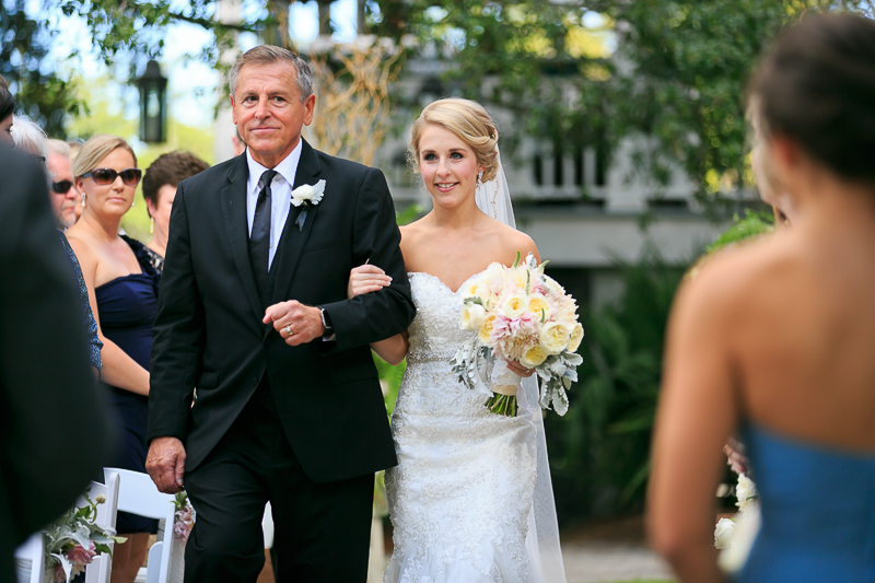Wedding Ceremony Photos at ION Creek Club in Mount Pleasant by Diana Deaver Weddings Photography