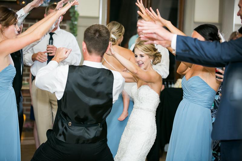 Wedding Reception Photos at ION Creek Club in Mount Pleasant