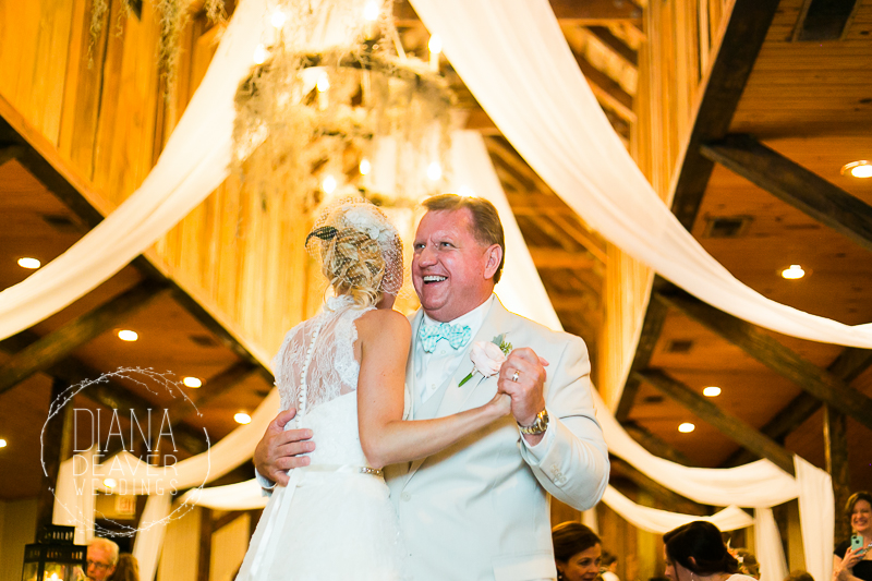 Best Wedding Photos Reception at the Carriage House at Magnolia Plantation Charleston SC photographed by Diana Deaver Weddings