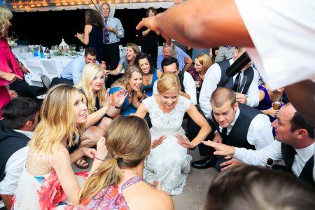reception photos under the wedding tent at the island house charleston sc