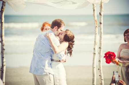 ceremony kiss kiawah sc