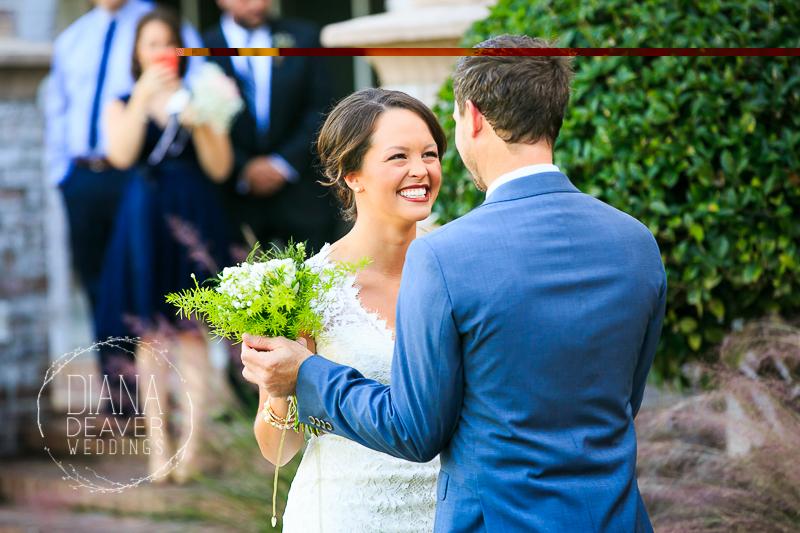 first look dunes west wedding