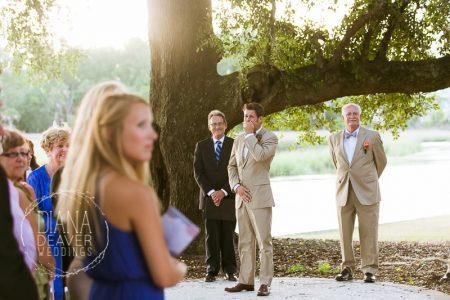 dunes west wedding ceremony