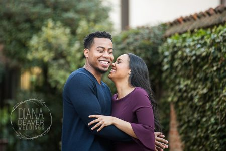 laughter and playfulness in engagement photos