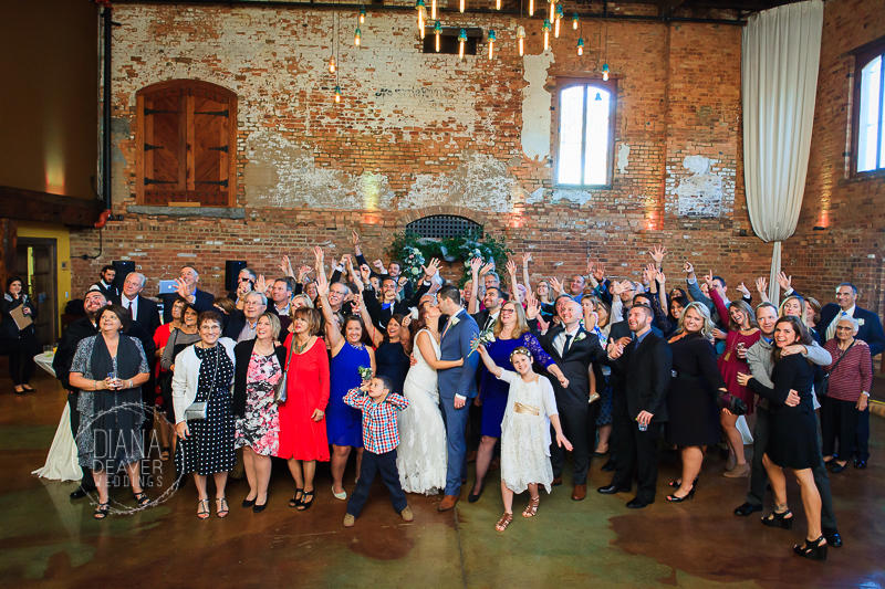 old cigar warehouse formal photos diana deaver weddings