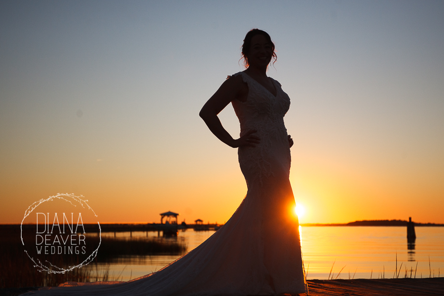 Folly Beach Wedding Regatta Inn Charleston SC Photographer Diana Deaver Weddings