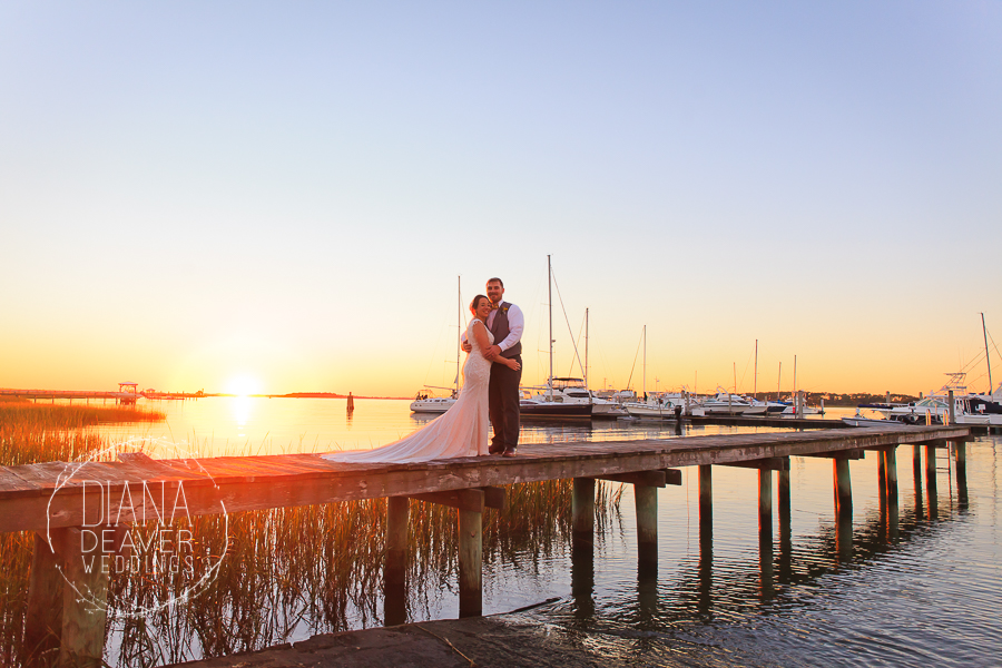Folly Beach Wedding Regatta Inn Charleston SC Photographer Diana Deaver Weddings (129)
