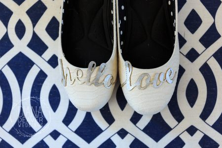 wedding shoes stickers